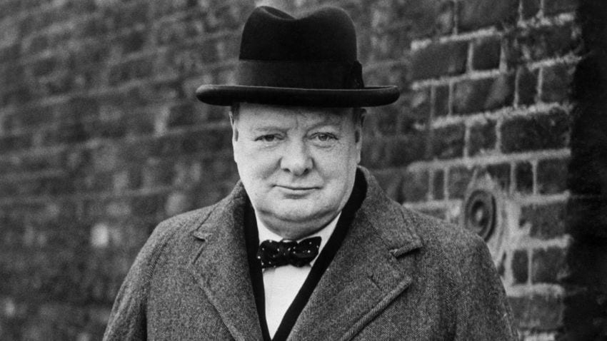 Winston Churchill hat