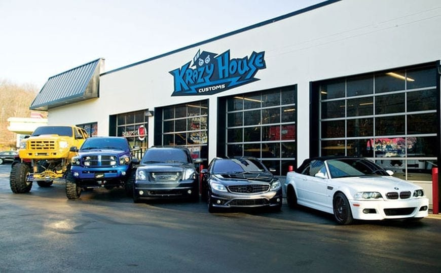 Custom Car Shops in America