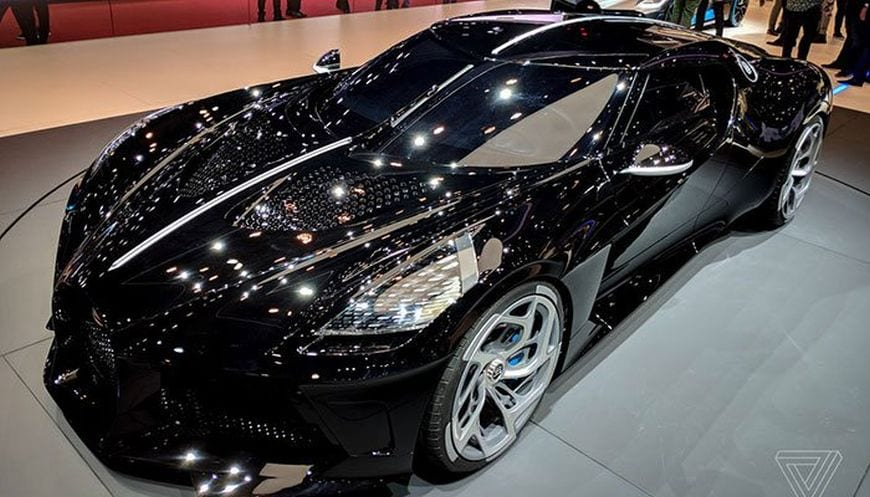 Most Expensive Car In The World >> La Voiture Noire The Most Expensive Car In The World Is
