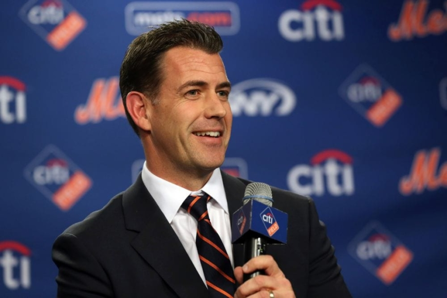 Brodie Ryan Van Wagenen at Citi Field in New York