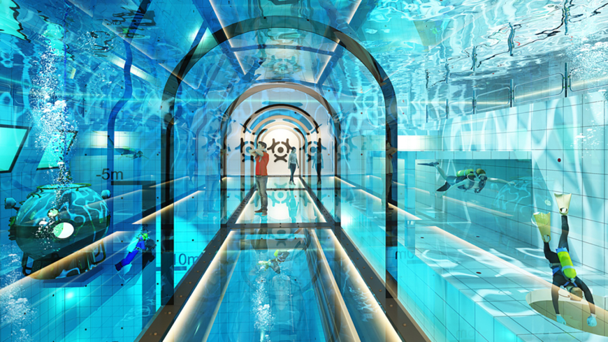 the world 39 s deepest swimming pool soon to be opened in poland foreign policy