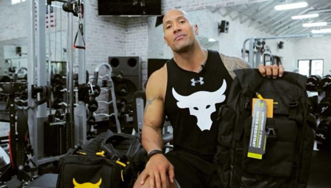 What S Inside Dwayne S The Rock Johnson Gym Bag